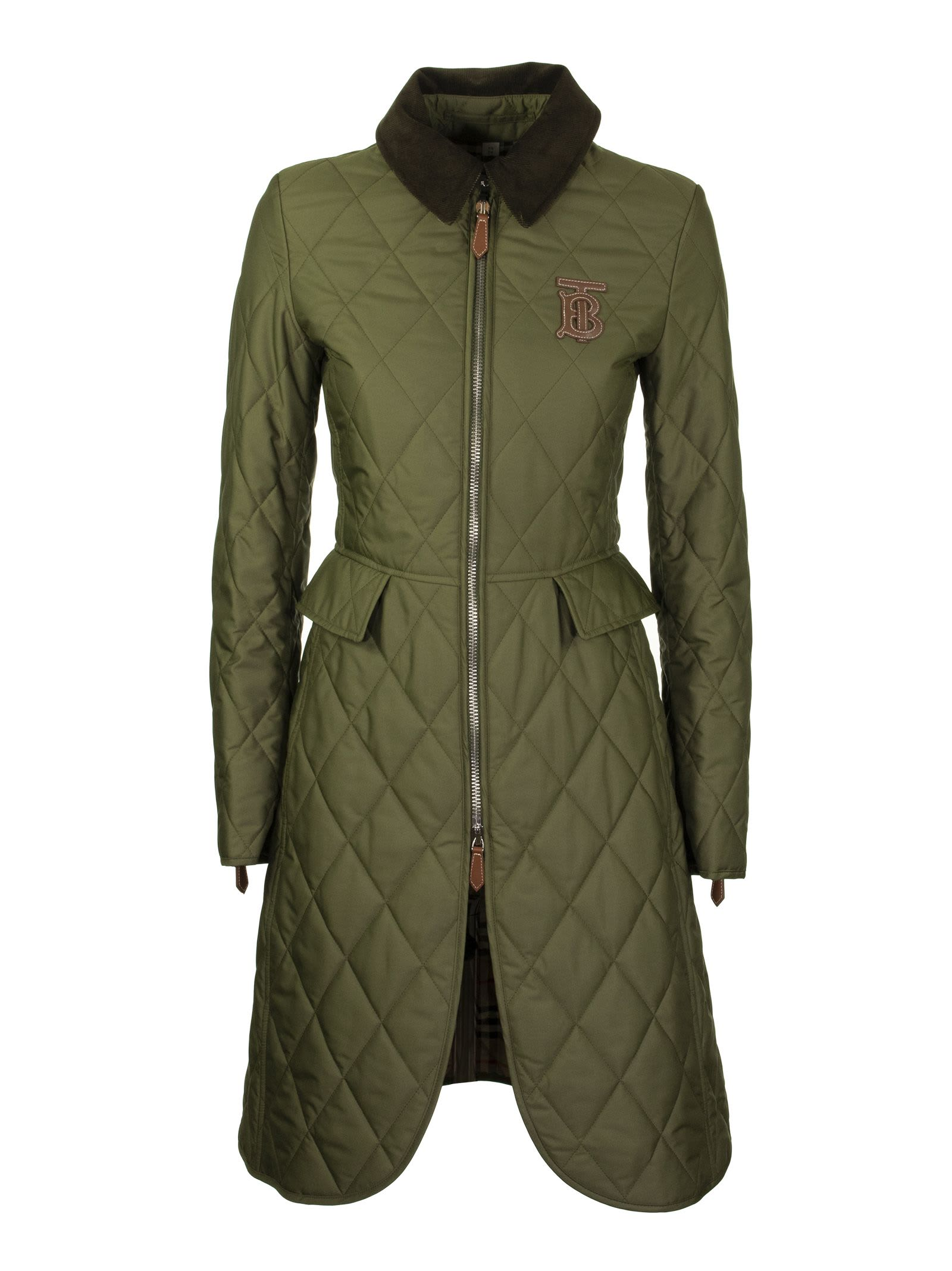 Burberry Ongar Long Green