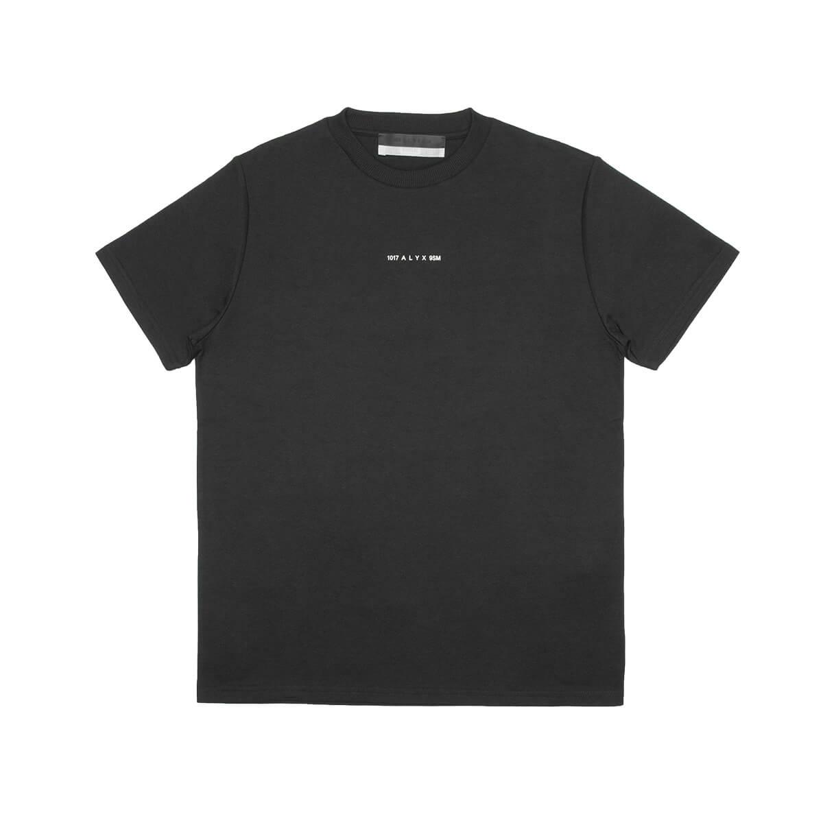 Alyx BLACK T-SHIRT VISUAL