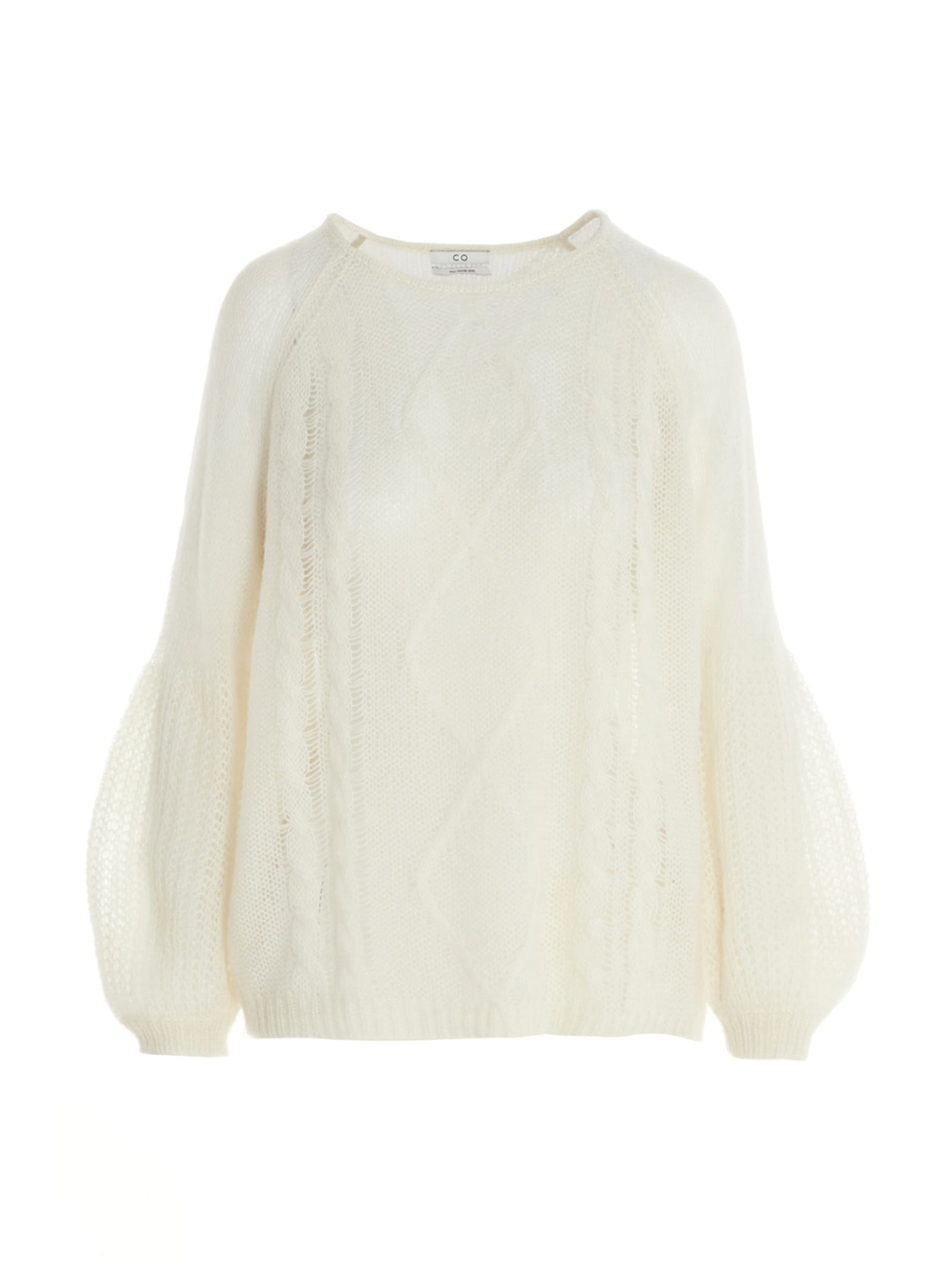 Co sheer Knit Sweater