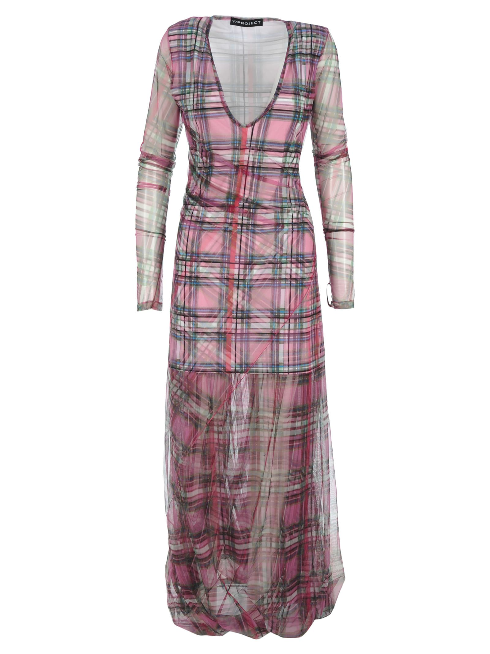 Photo of  Y & project Plaid Dress- shop Y & Project  online sales