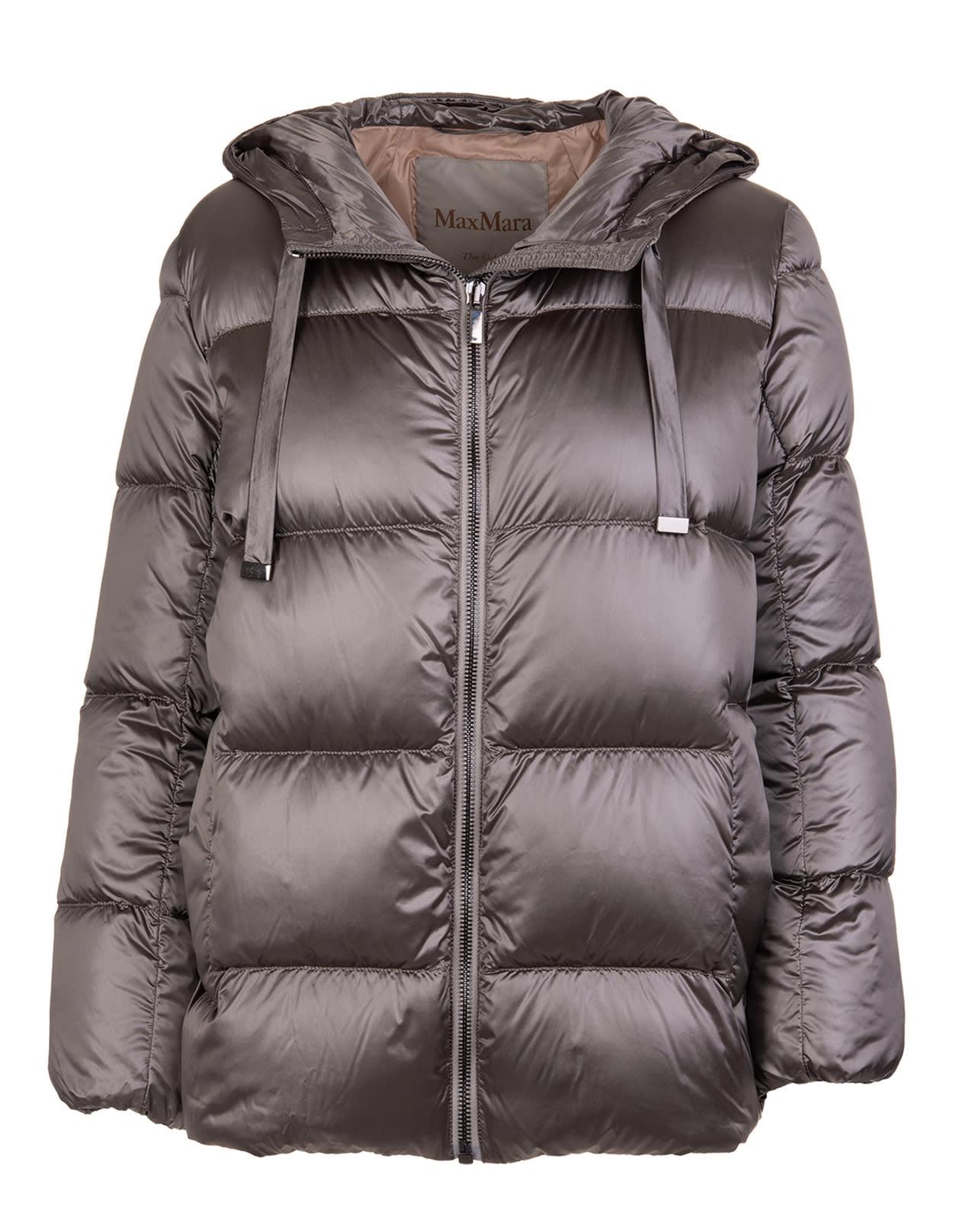 Grey Spacey Down Jacket