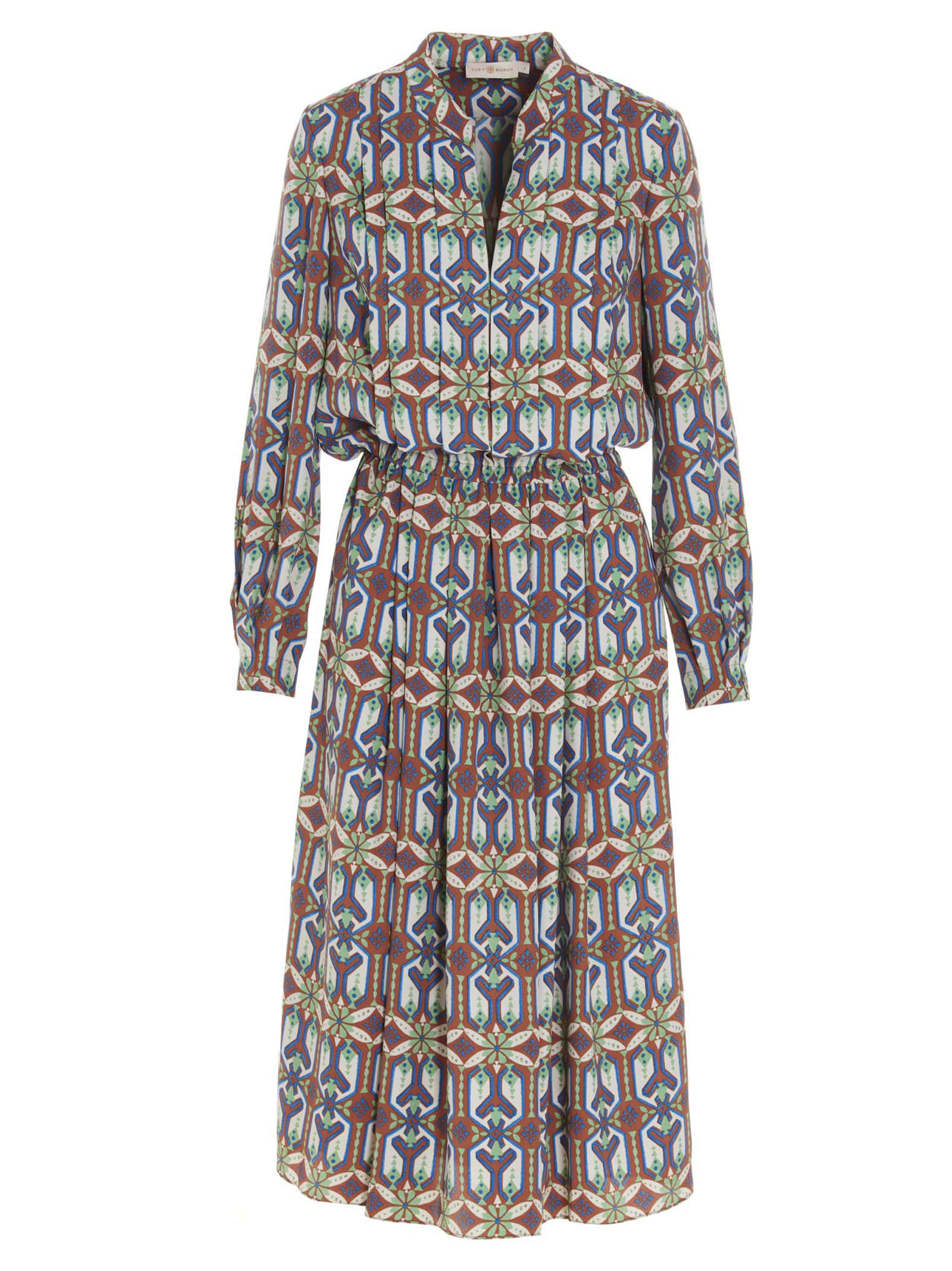 Buy garden Maze Dress online, shop Tory Burch with free shipping