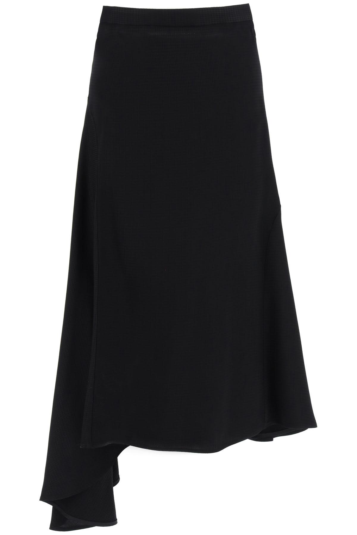 MSGM Houndstooth Midi Skirt