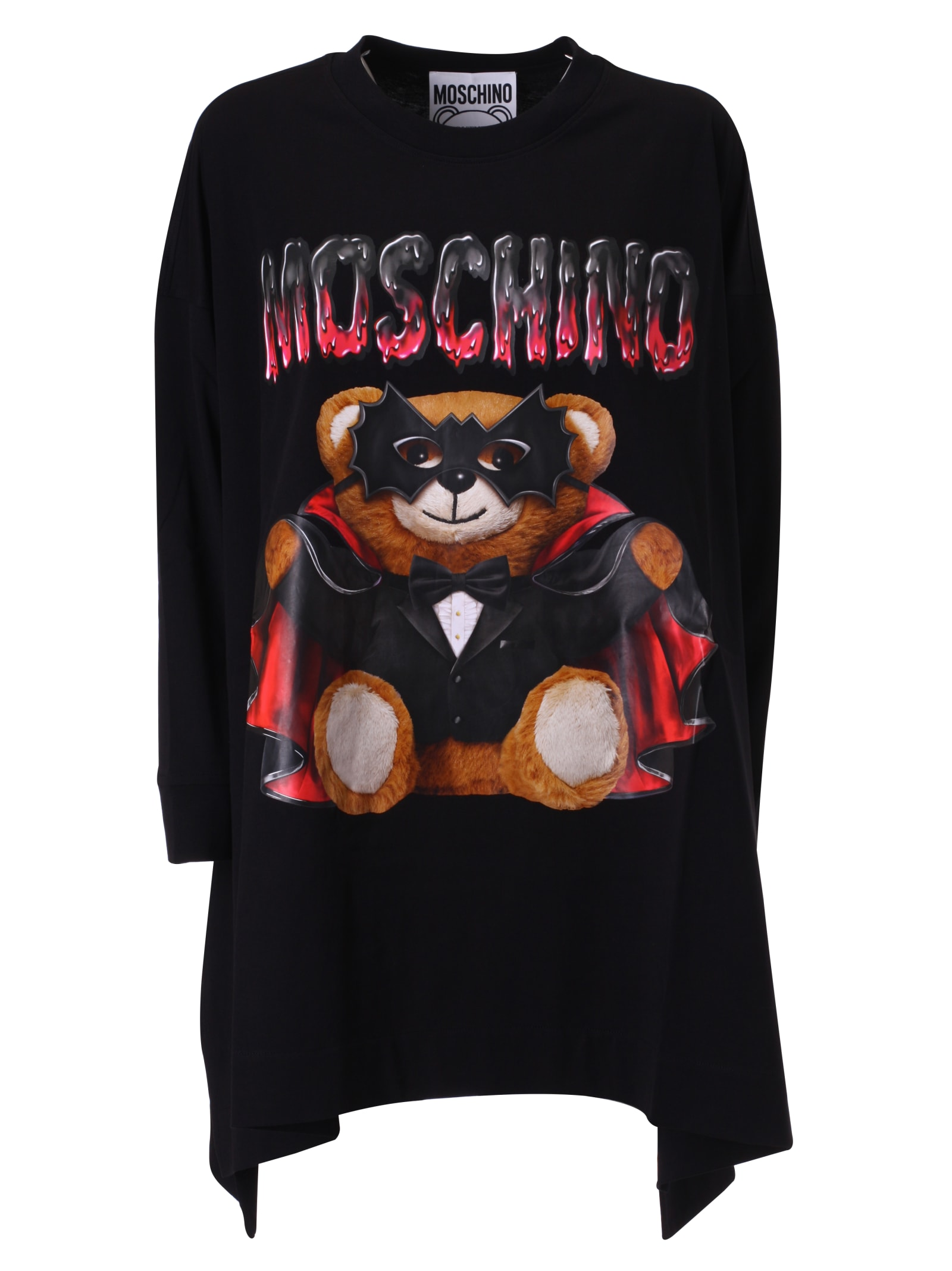 Buy Moschino Teddy Bat Printed Dress online, shop Moschino with free shipping