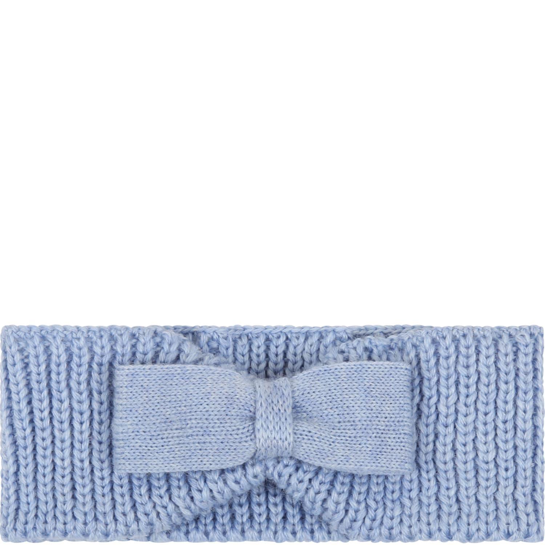 Light Blue Headband For Babygirl