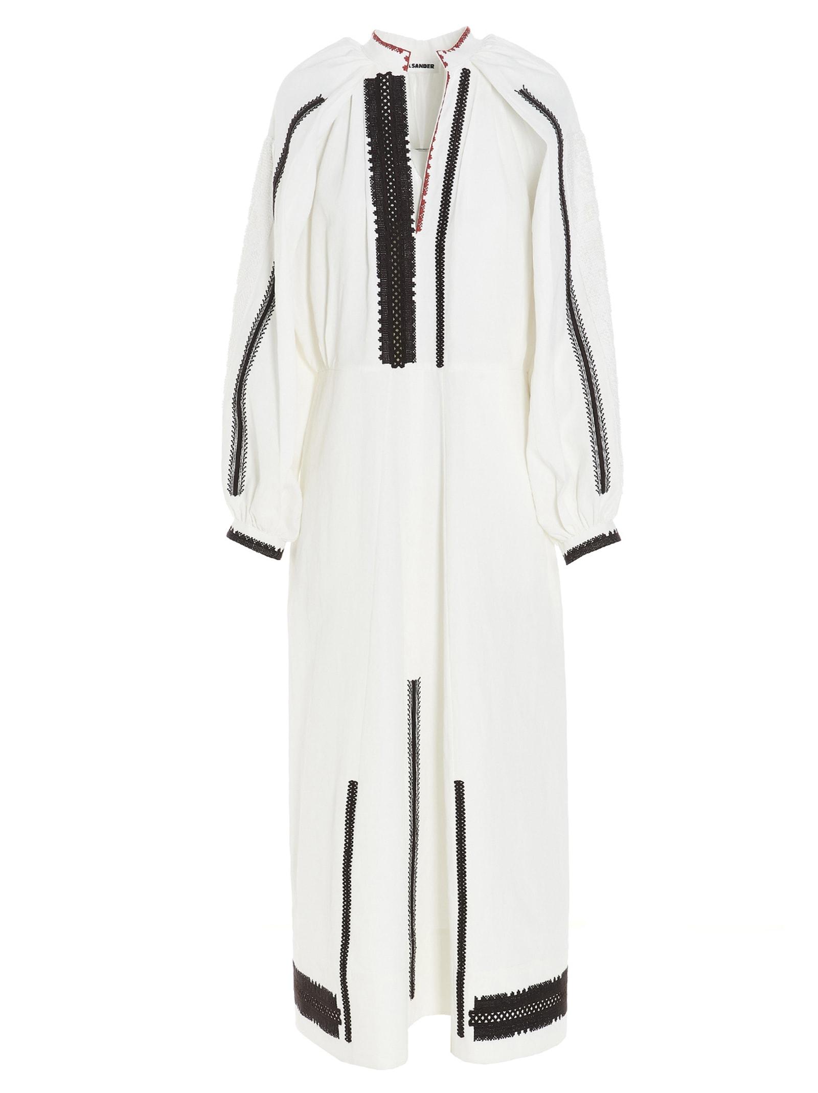 Jil Sander Linens DRESS
