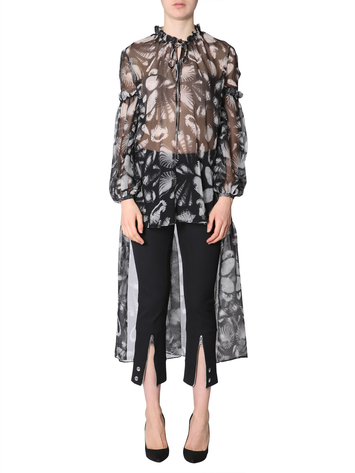 Alexander McQueen Silk Tunic