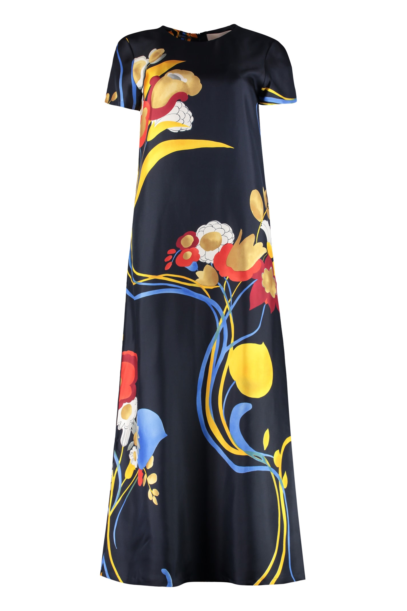 La DoubleJ Printed Long Dress