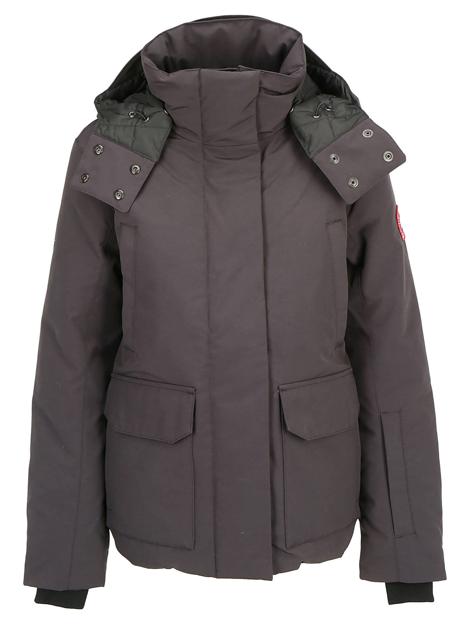 Canada Goose Ladies Rossclair Parka Coat Blue Camo | S
