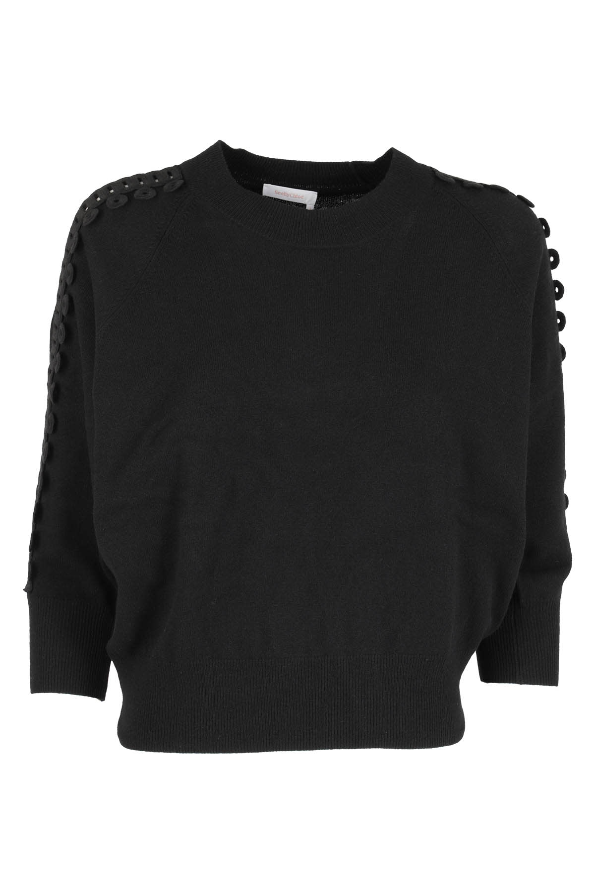 See By Chloé Sweater In Nero