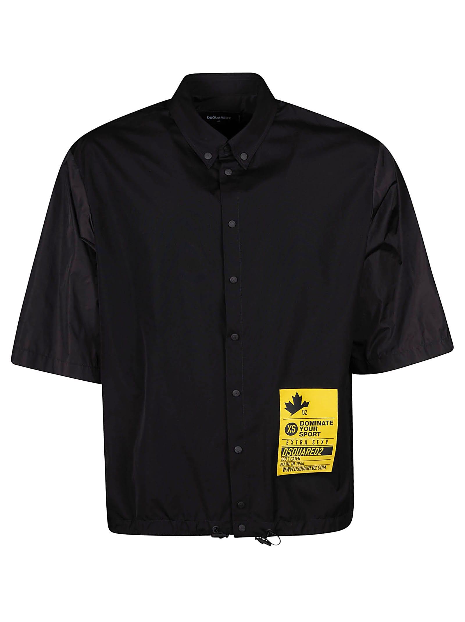 Dsquared2 Logo Print Short-sleeve Shirt
