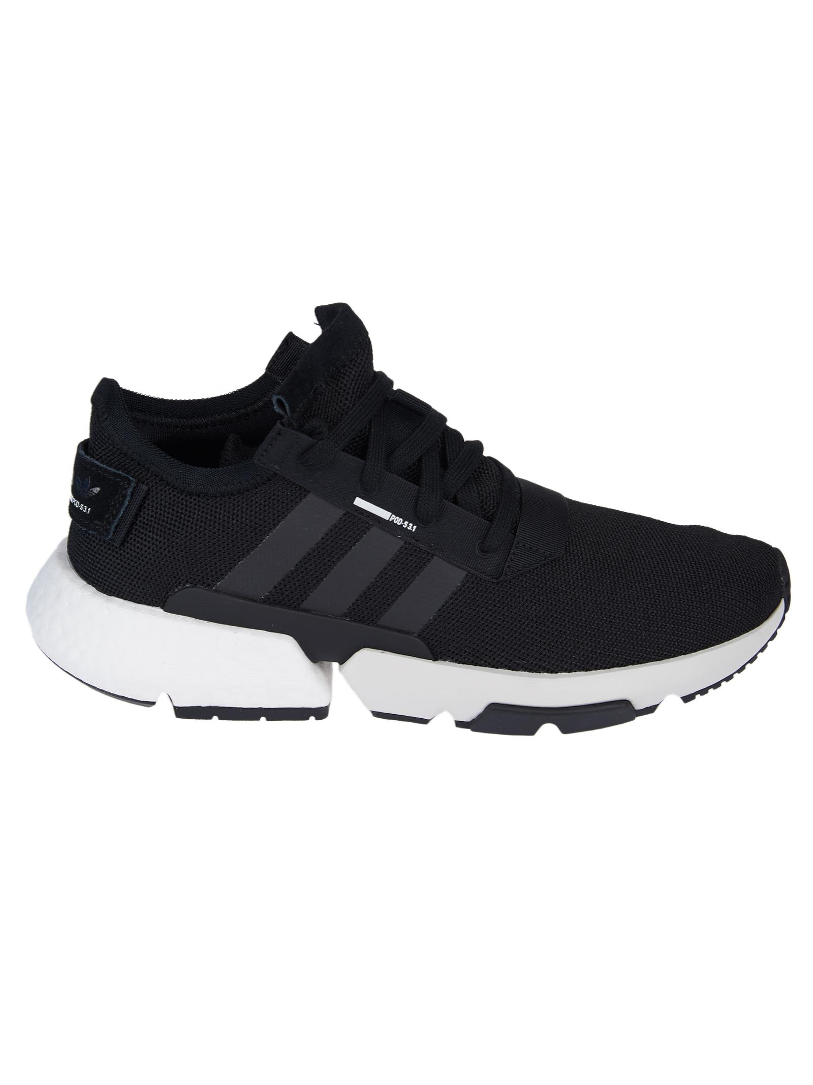 black rubber shoes adidas