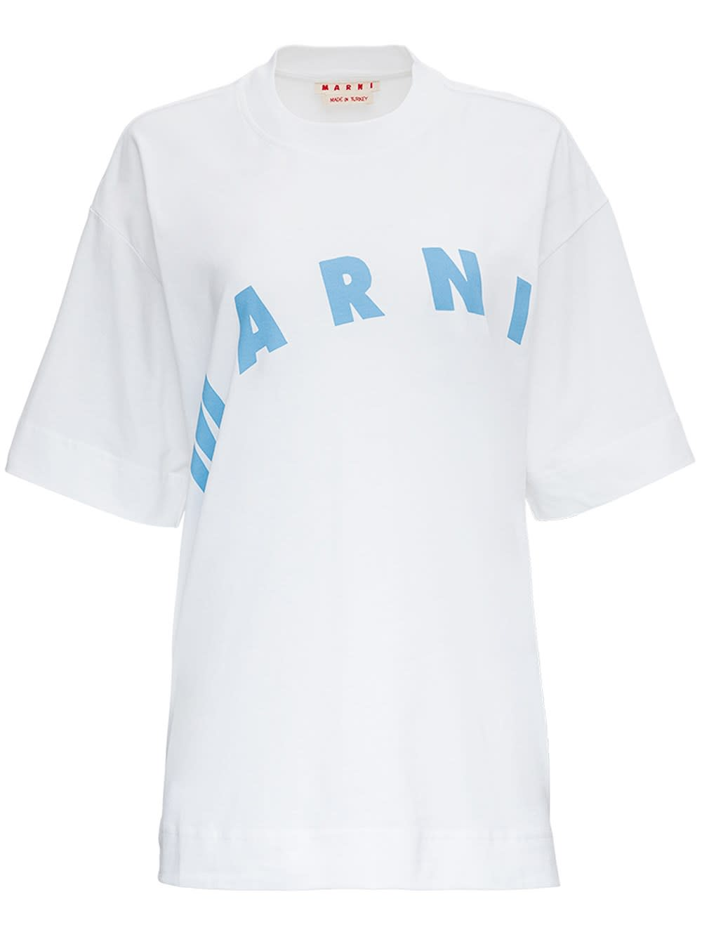 Marni COTTON T-SHIRT WITH LOGO