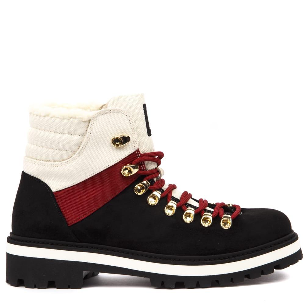 Tommy Hilfiger Multicolor Suede Trekking Boots