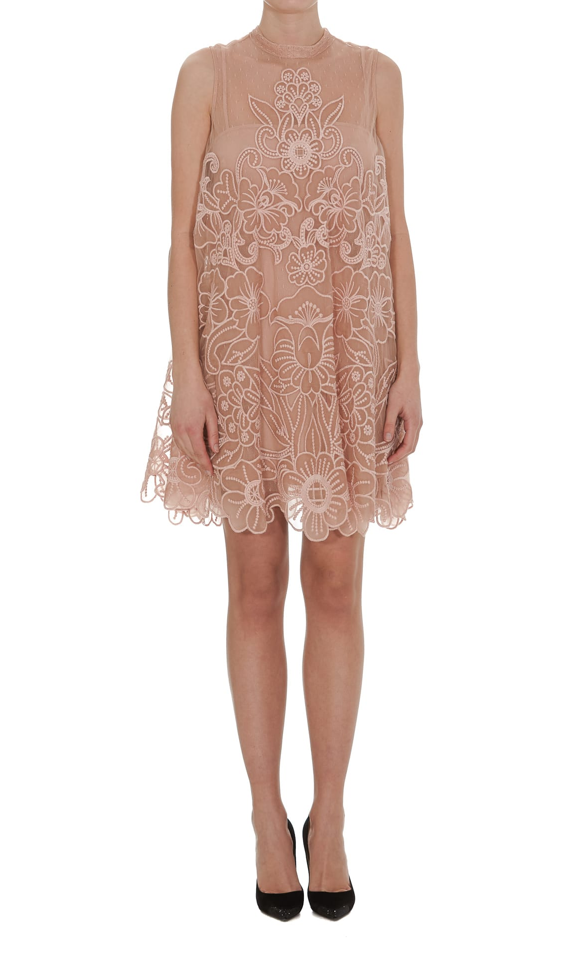 Buy Red Valentino Organza Dress online, shop RED Valentino with free shipping