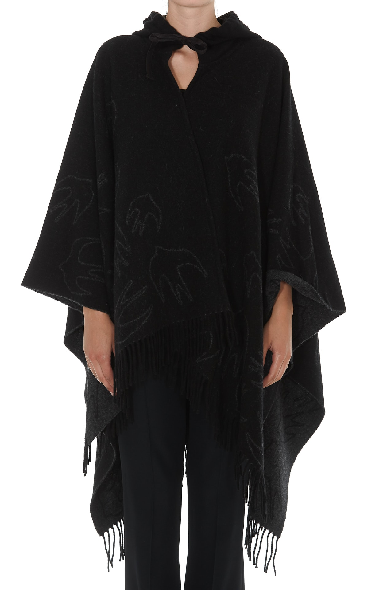 Mcq Alexander Mcqueen Swallow Poncho