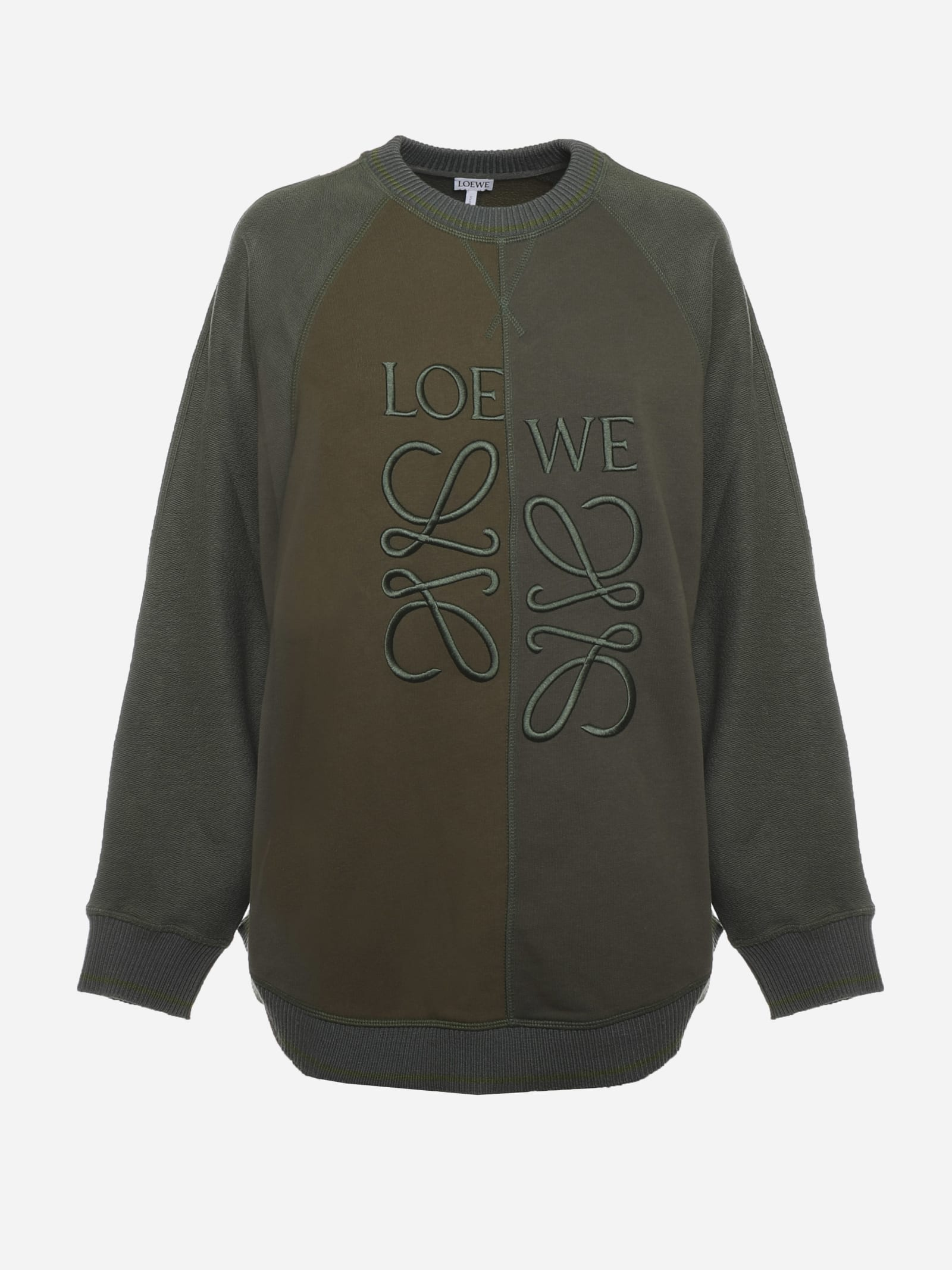 Loewe Cottons ANAGRAM COTTON SWEATSHIRT