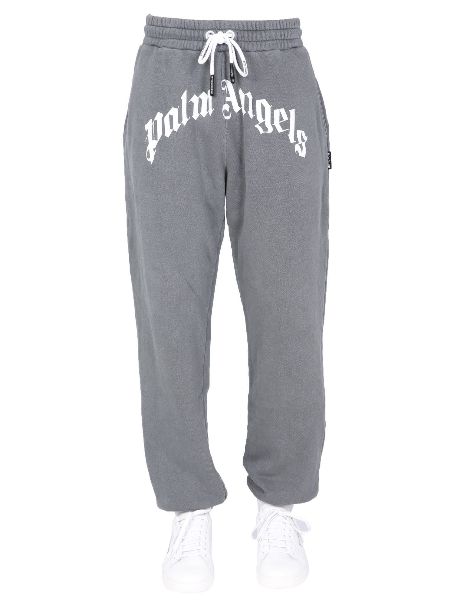 Palm Angels Jogging Pants In Nero