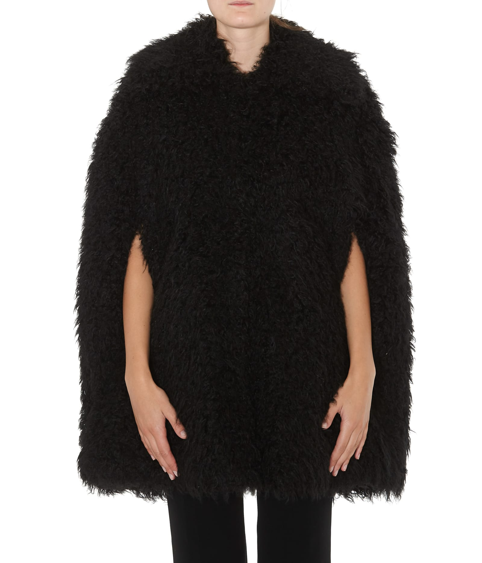 Michael Michael Kors Eco Fur Cape