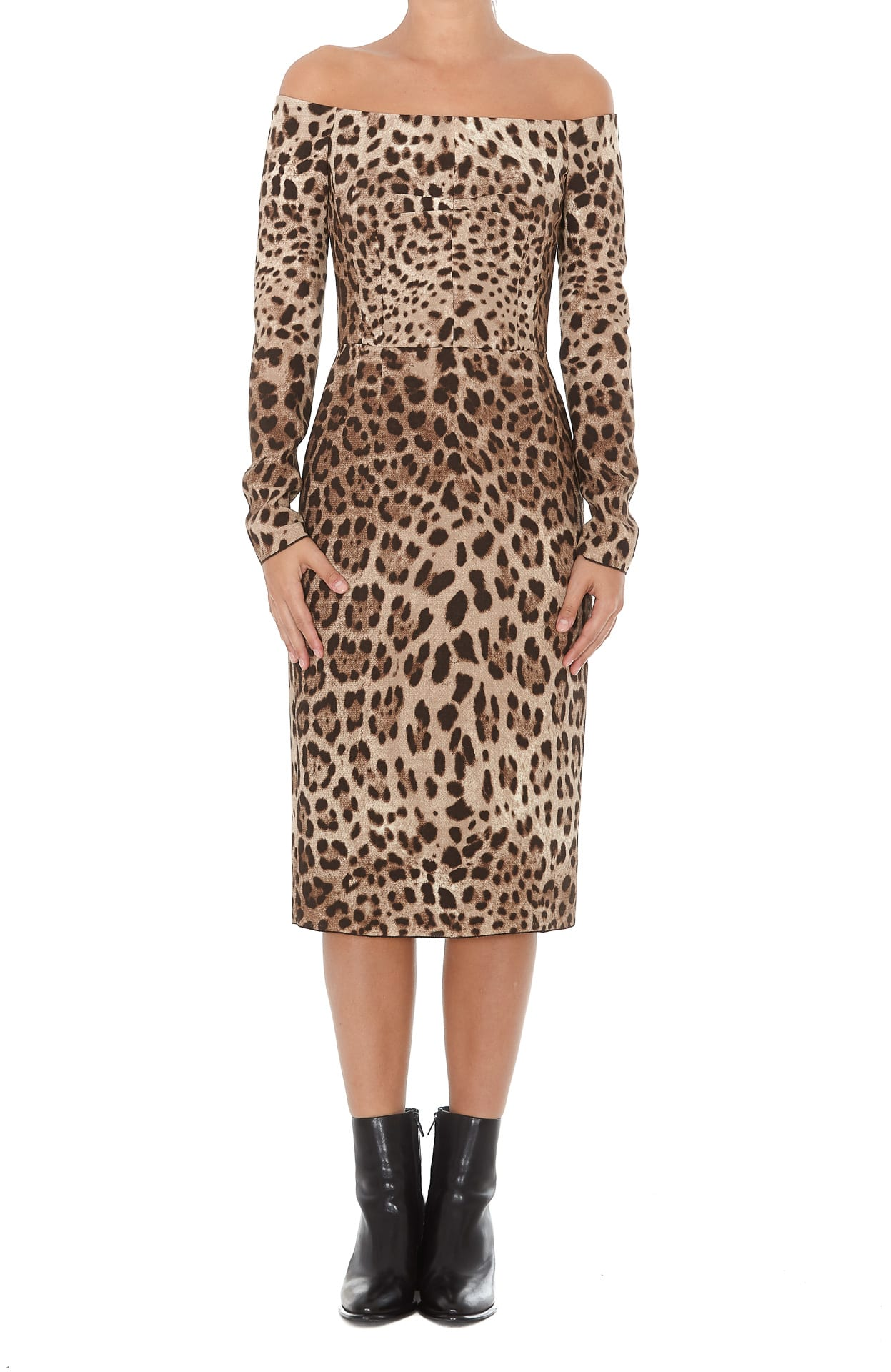 Dolce & Gabbana Animalier Dress
