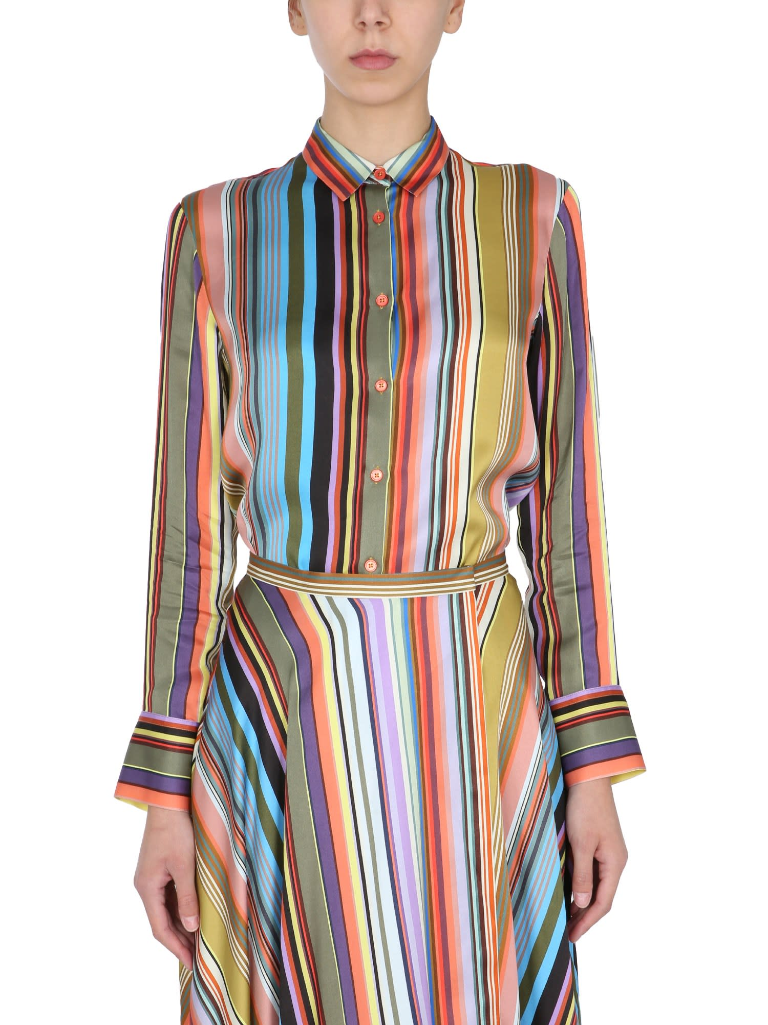 Ps By Paul Smith Shirts REGULAR FIT SHIRT