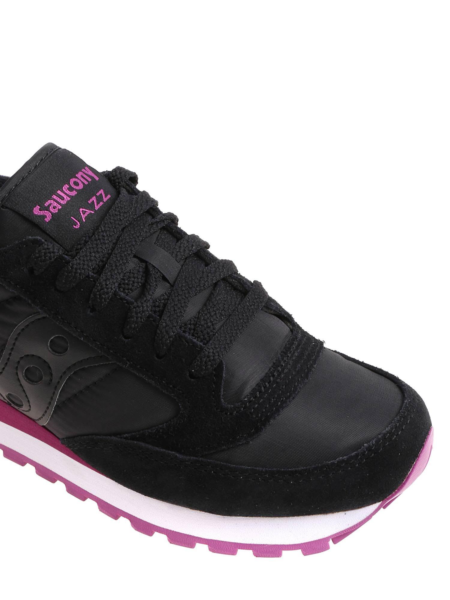 saucony black pink