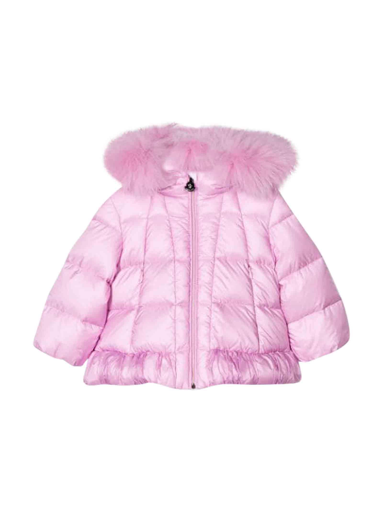 Moncler Pink Lightweight Jacket Verney
