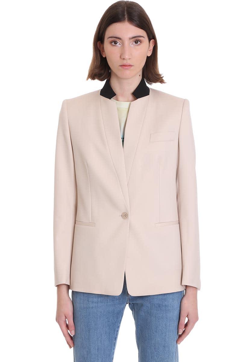 Stella McCartney Blazer In Beige Wool