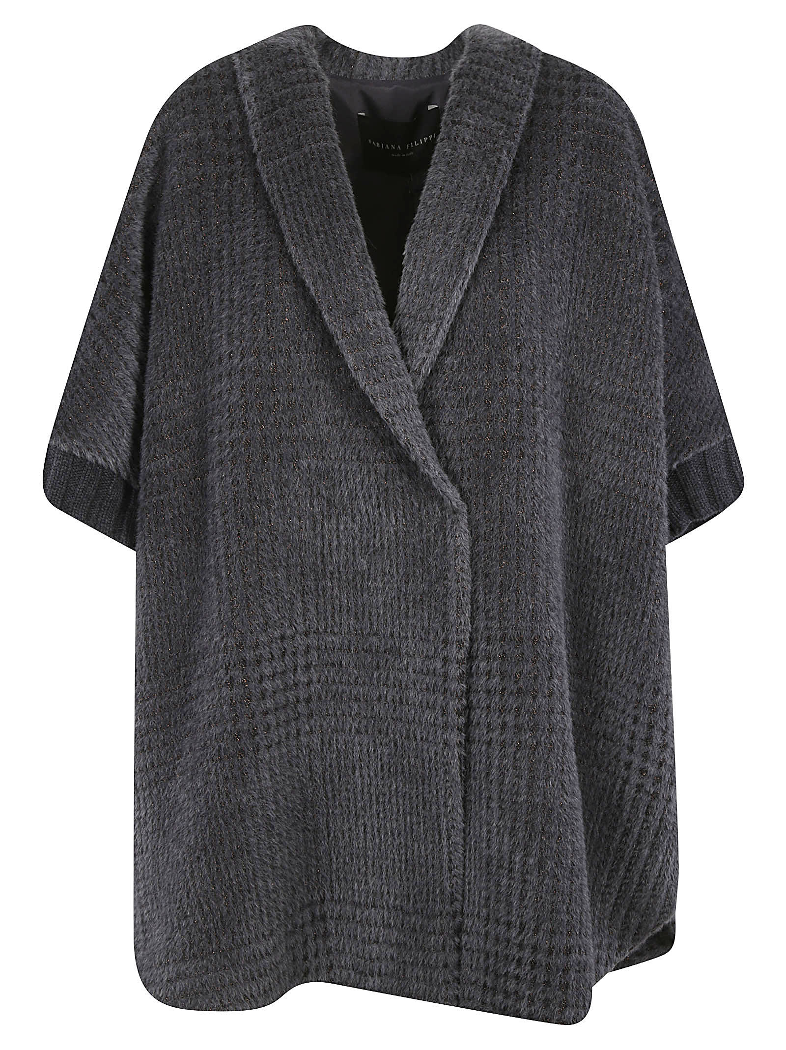 Fabiana Filippi Oversized Woven Coat