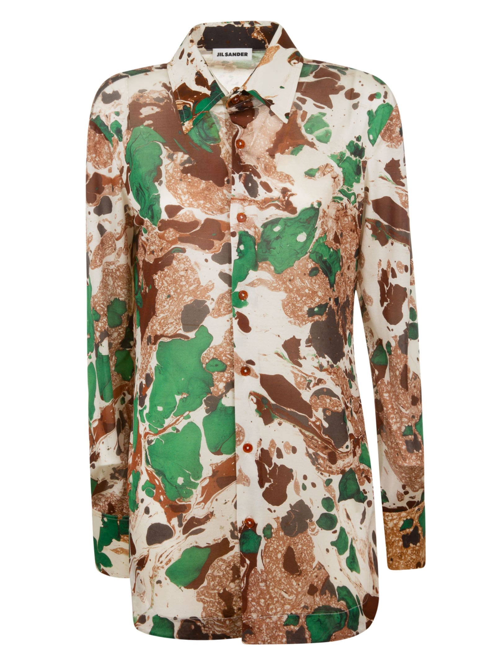 Jil Sander All-over Printed Shirt