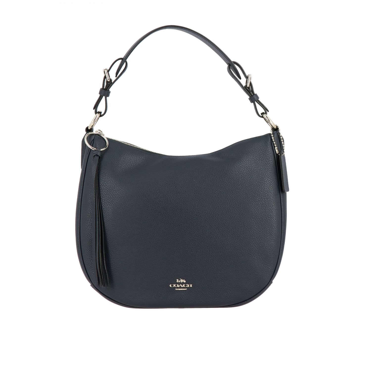 Coach Shoulder Bag Coach Sutton Hobo Bag In Grained Leather