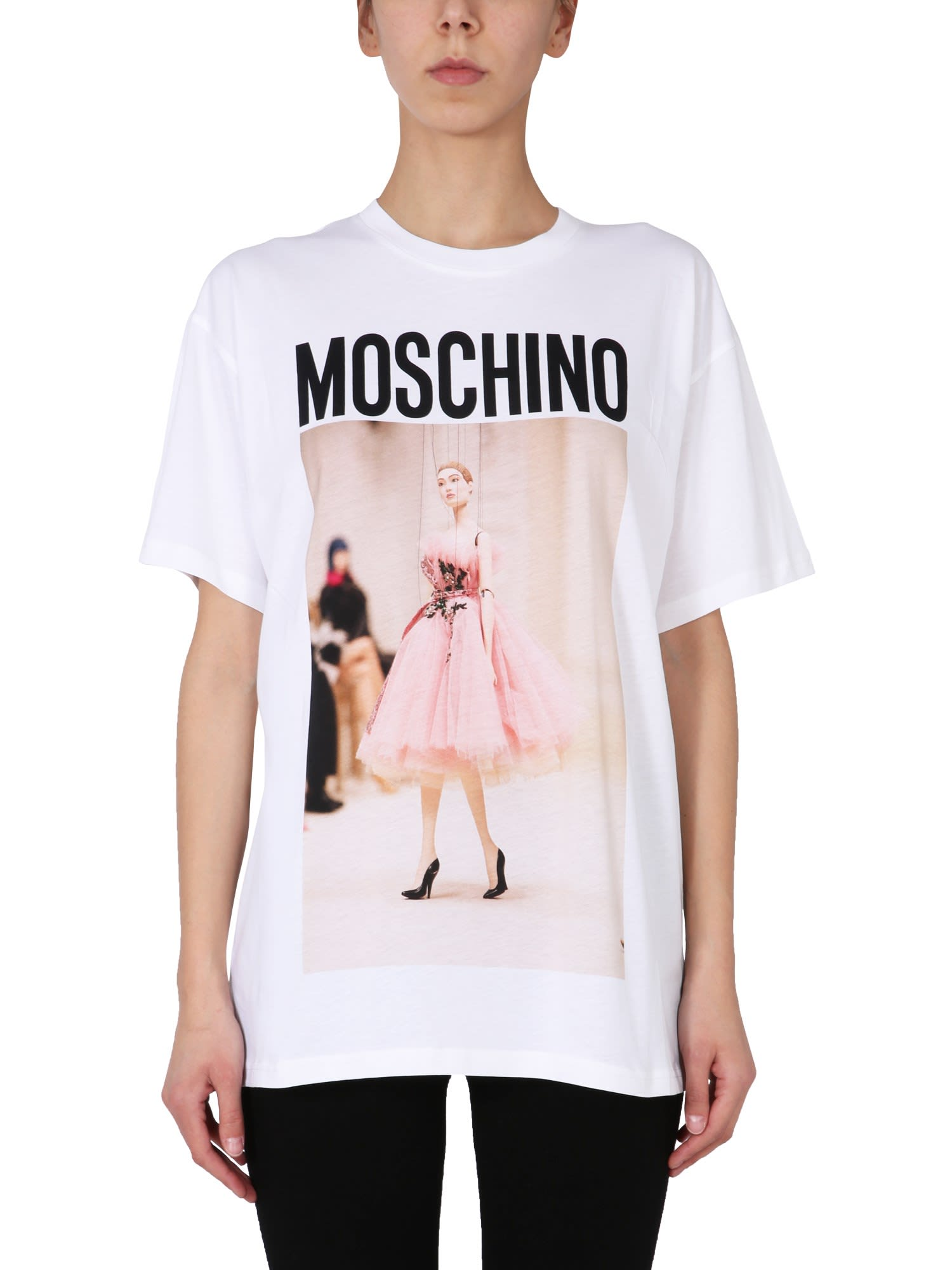 Moschino NO STRINGS ATTACHED T-SHIRT