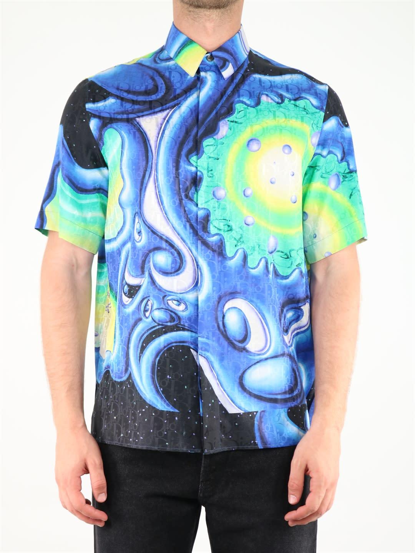 Dior And Kenny Scharf Shirt