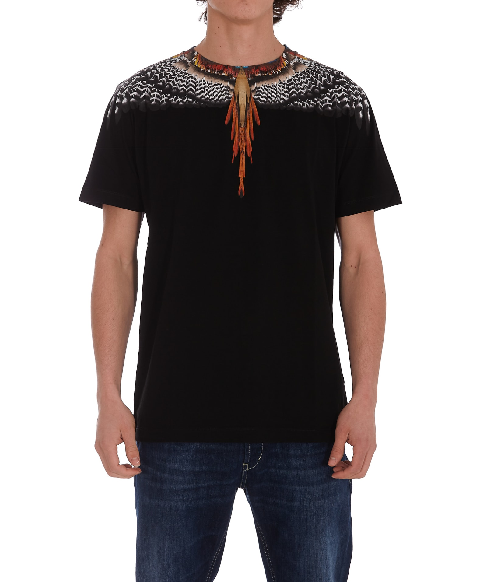 Marcelo Burlon County Of Milan Cottons GLIZZLY WINGS T-SHIRT