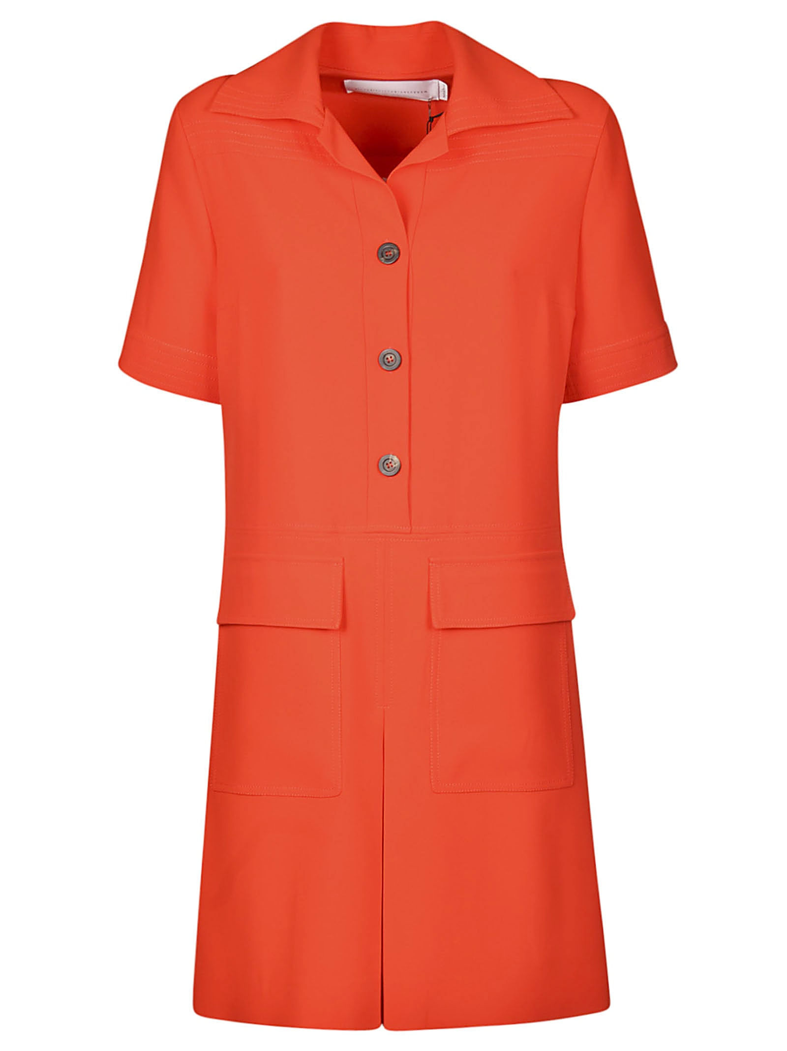 Buy Victoria Beckham Fluid Crepe Dress online, shop Victoria Beckham with free shipping