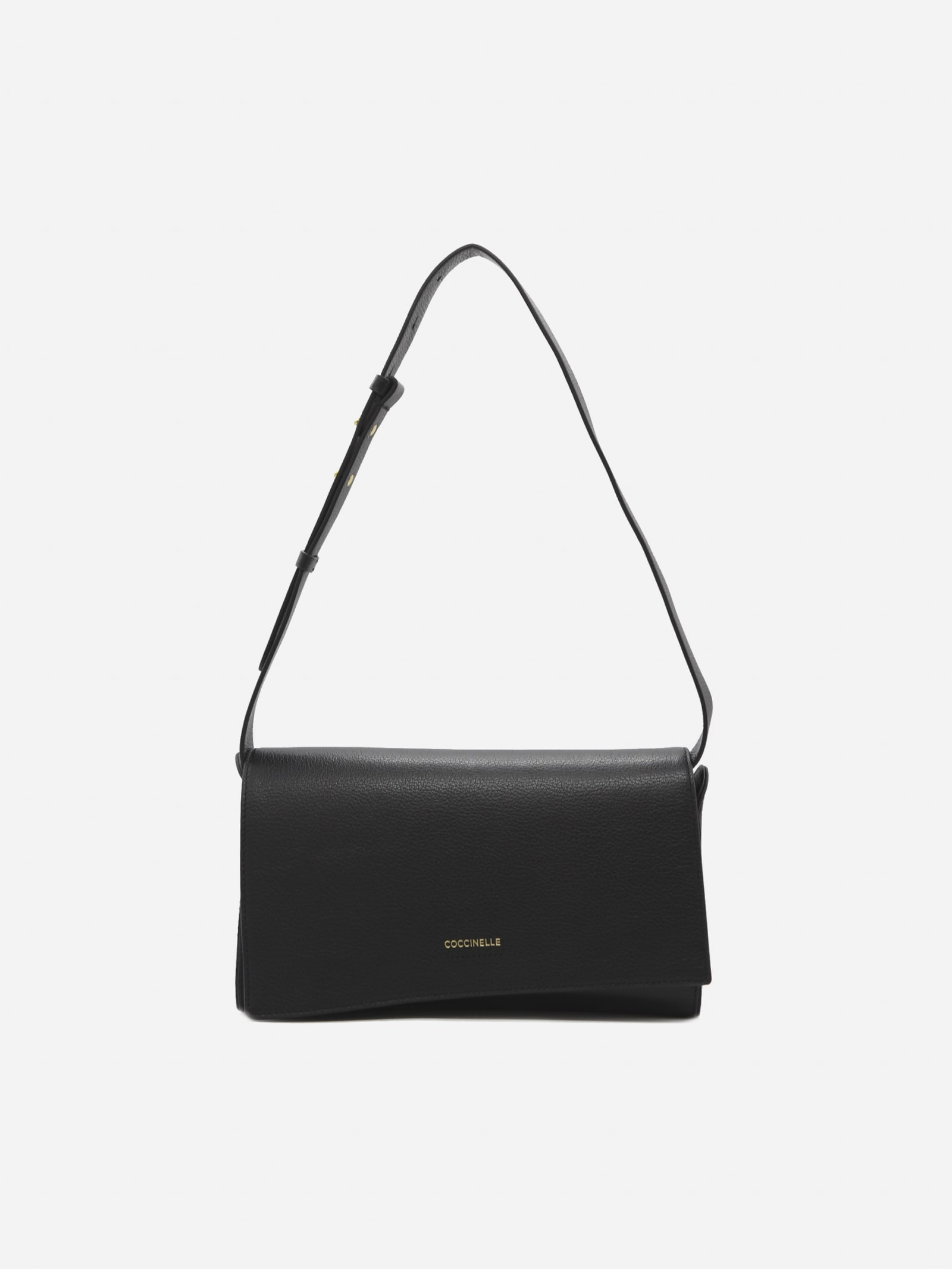 Josephine Shoulder Bag In Grained Leather