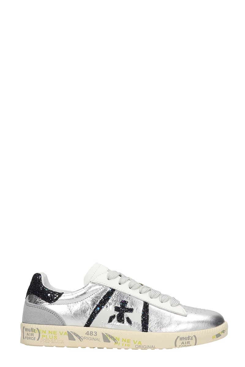 Andy Leather In Silver Sneakers Premiata tsxhCdQr