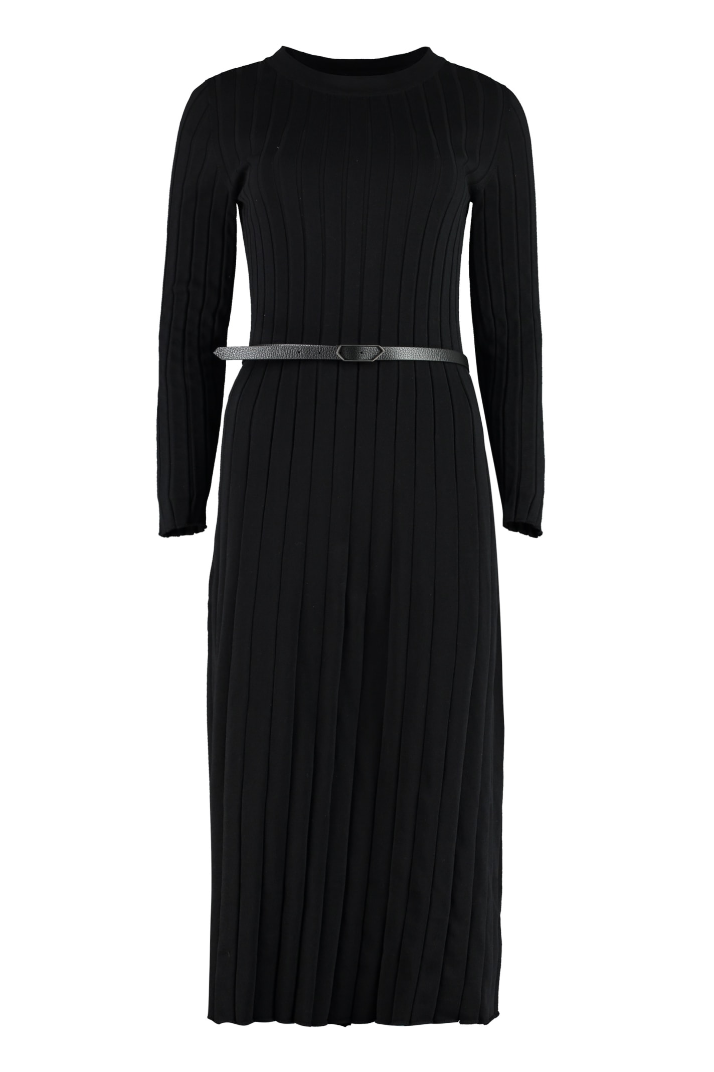 Fabiana Filippi RIBBED KNIT DRESS