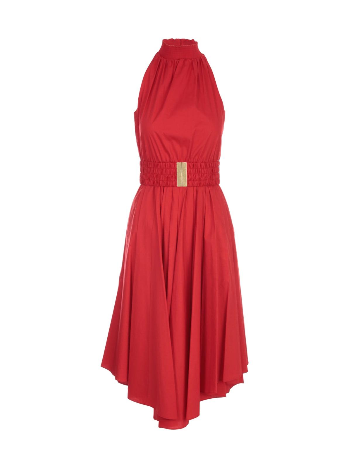 Michael Kors Halter Poplin Dress
