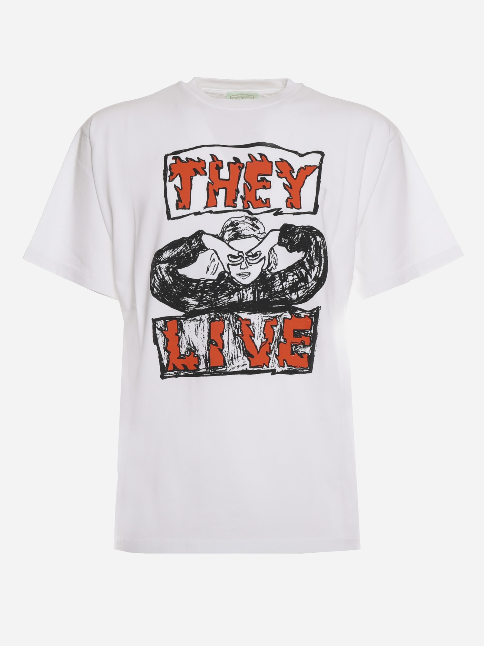 Aries Cottons THEY LIVE COTTON T-SHIRT