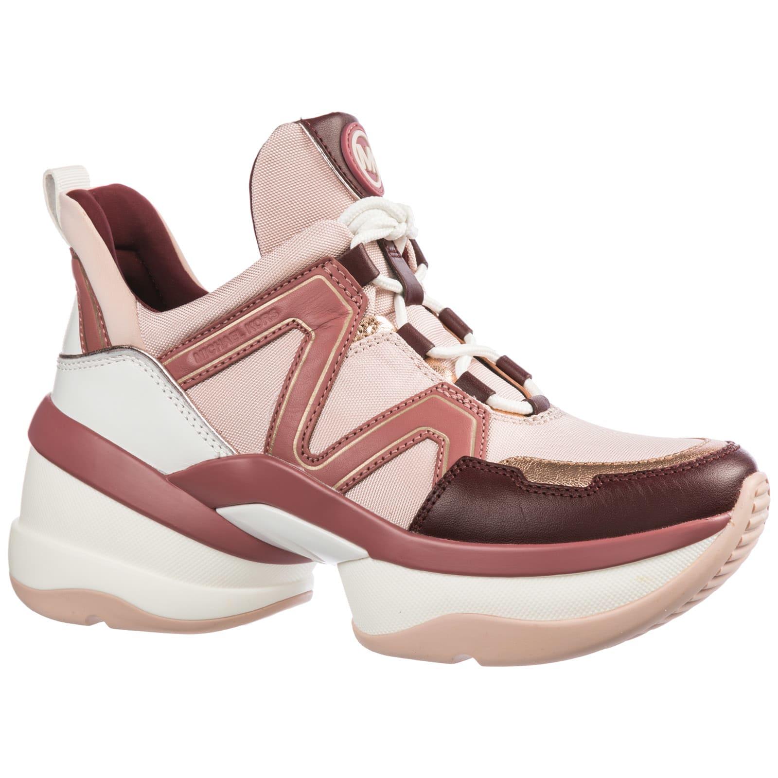 Black MICHAEL KORS Sneakers GEORGIE TRAINER - Omoda.com