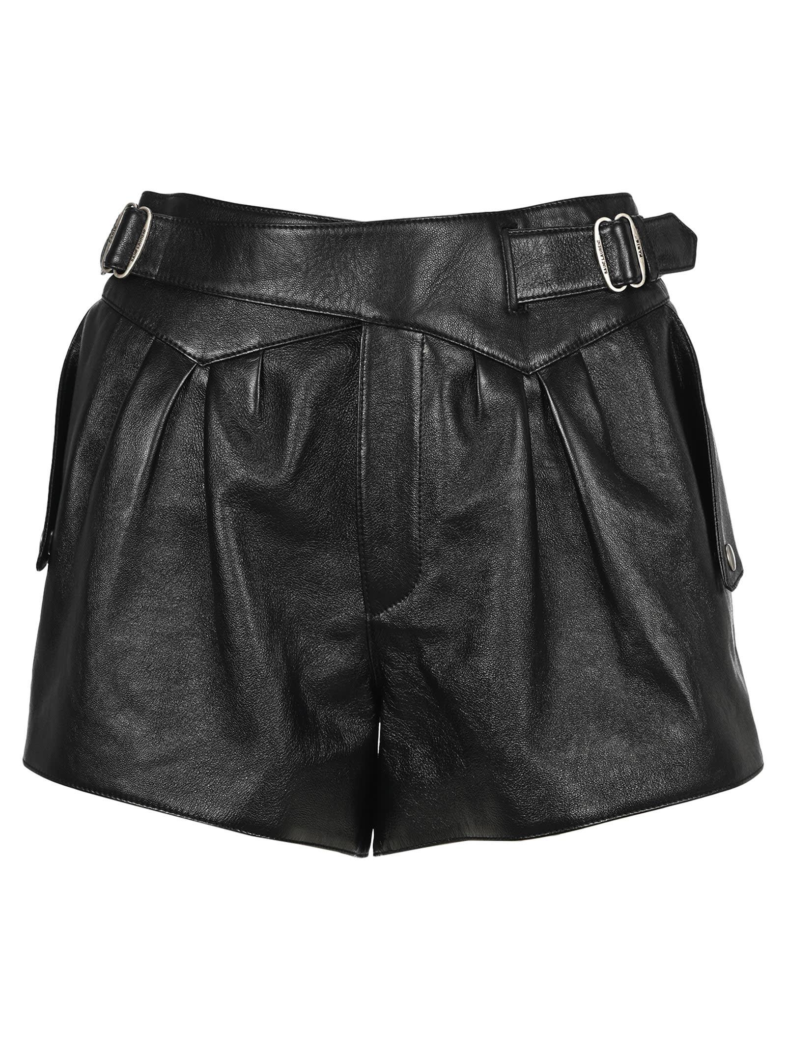 Saint Laurent High-rise Shorts