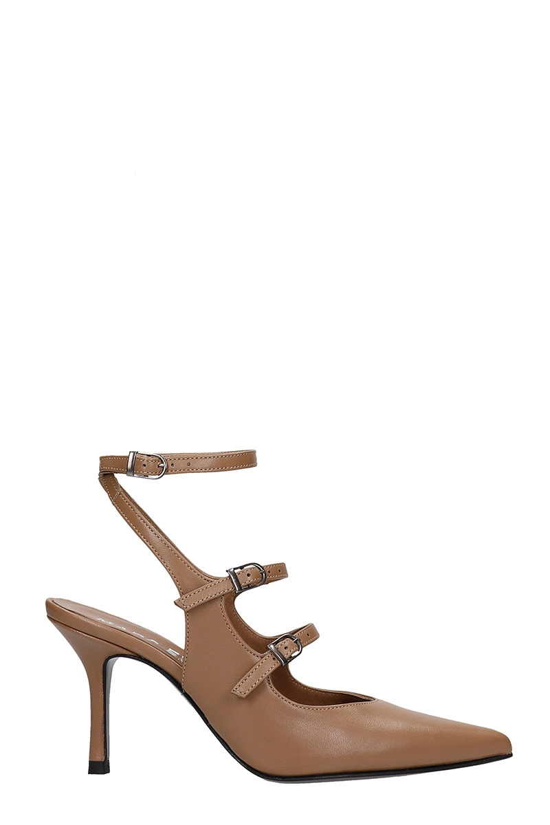 Pumps In Brown Leather