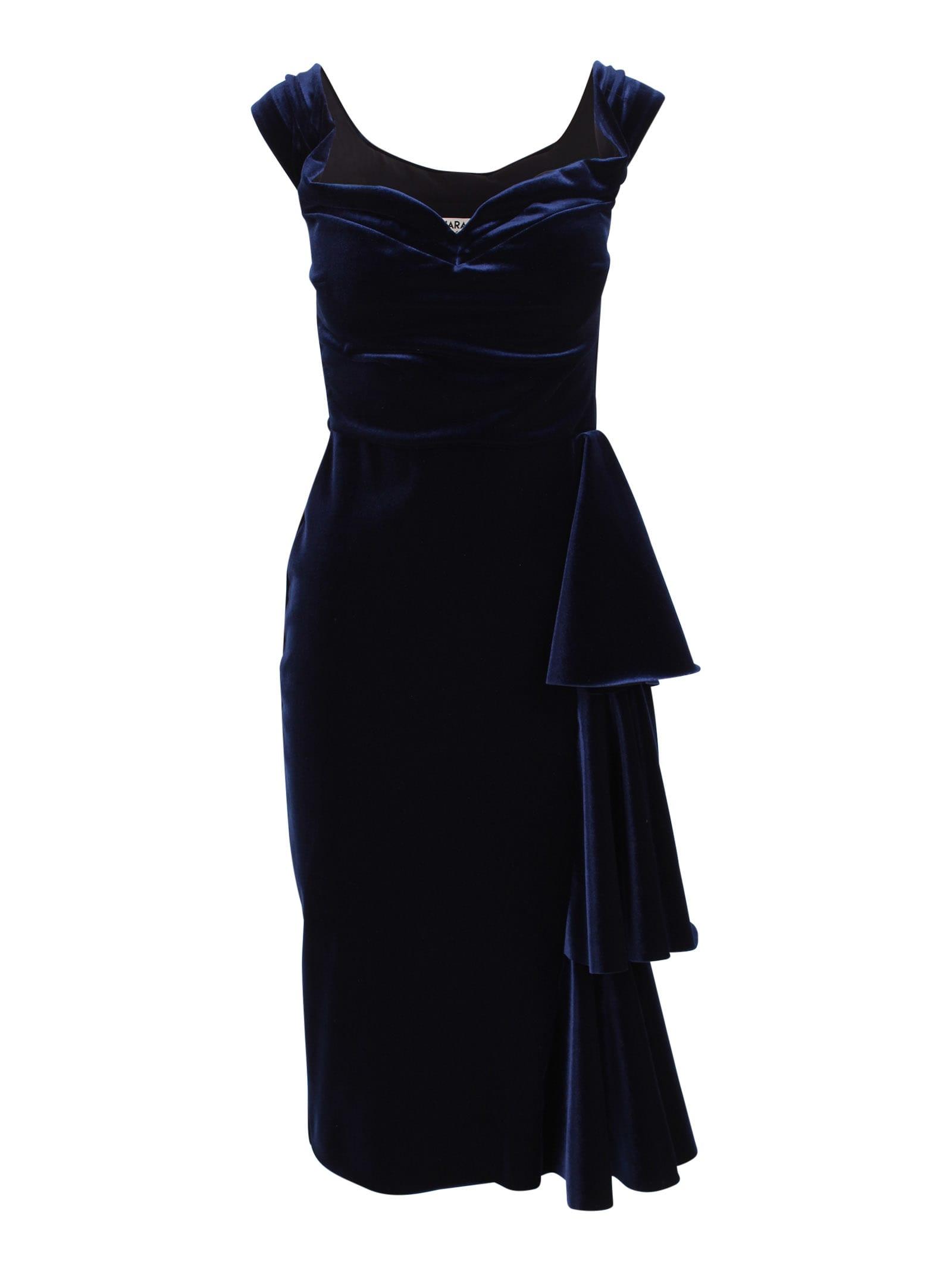 Le Petite Robe Di Chiara Boni willa Polyester Dress With Ruffles