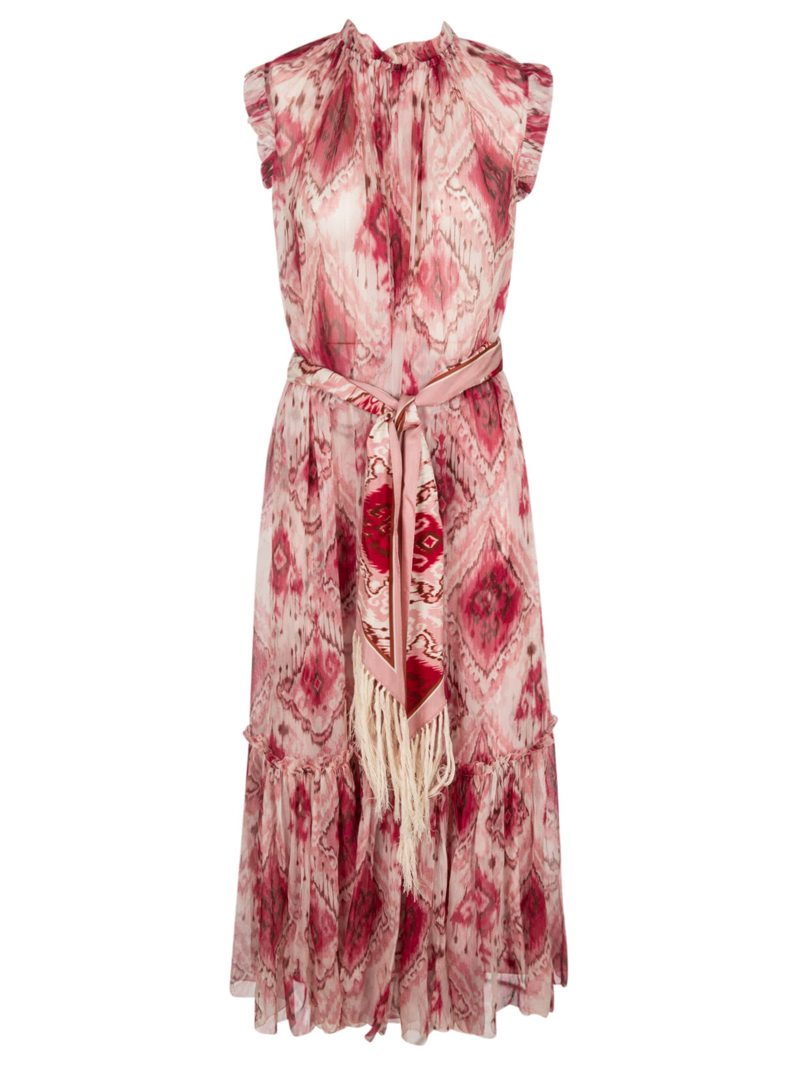 Buy Zimmermann Wavelength Tank Frilled Mini Dress online, shop Zimmermann with free shipping