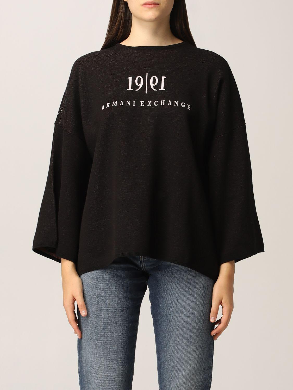 Armani Exchange Sweater Wide Logo