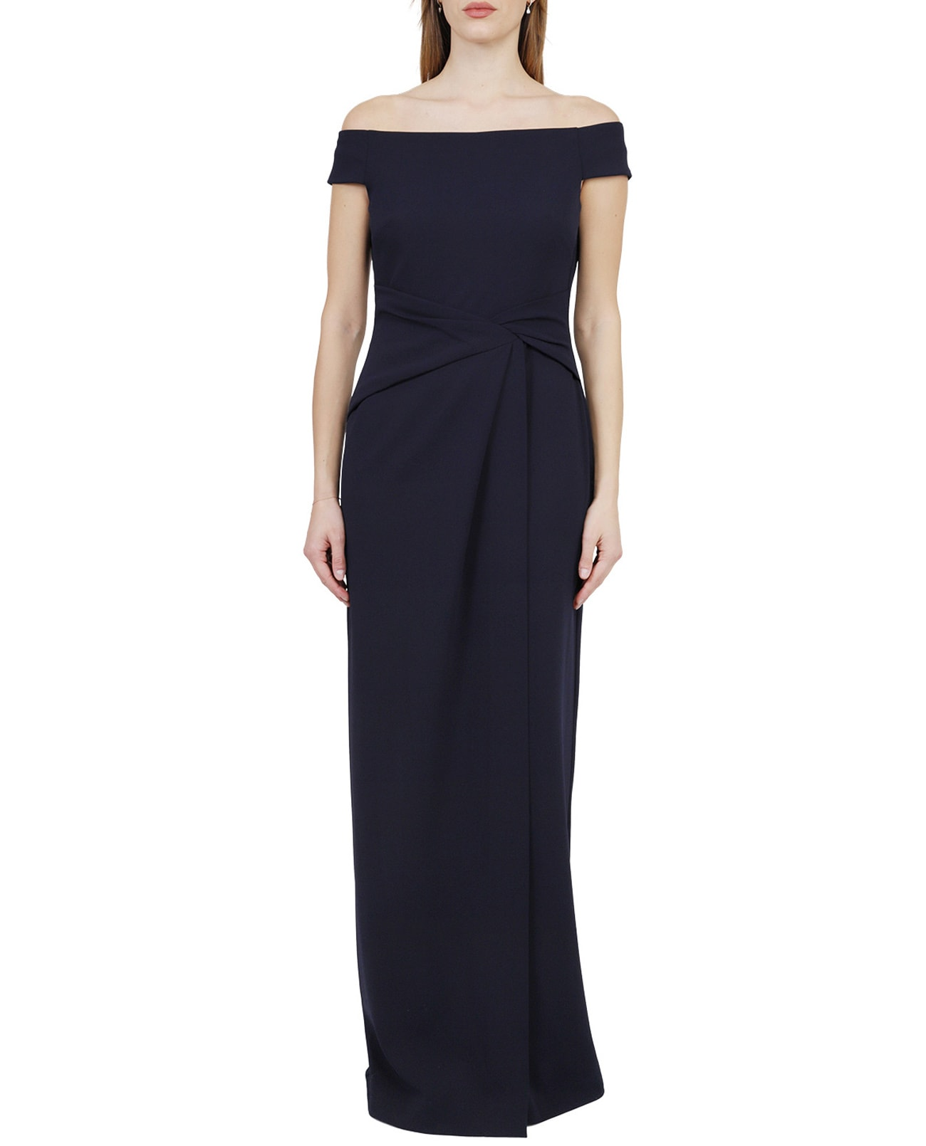 Lauren Ralph Lauren Navy Saran Dress