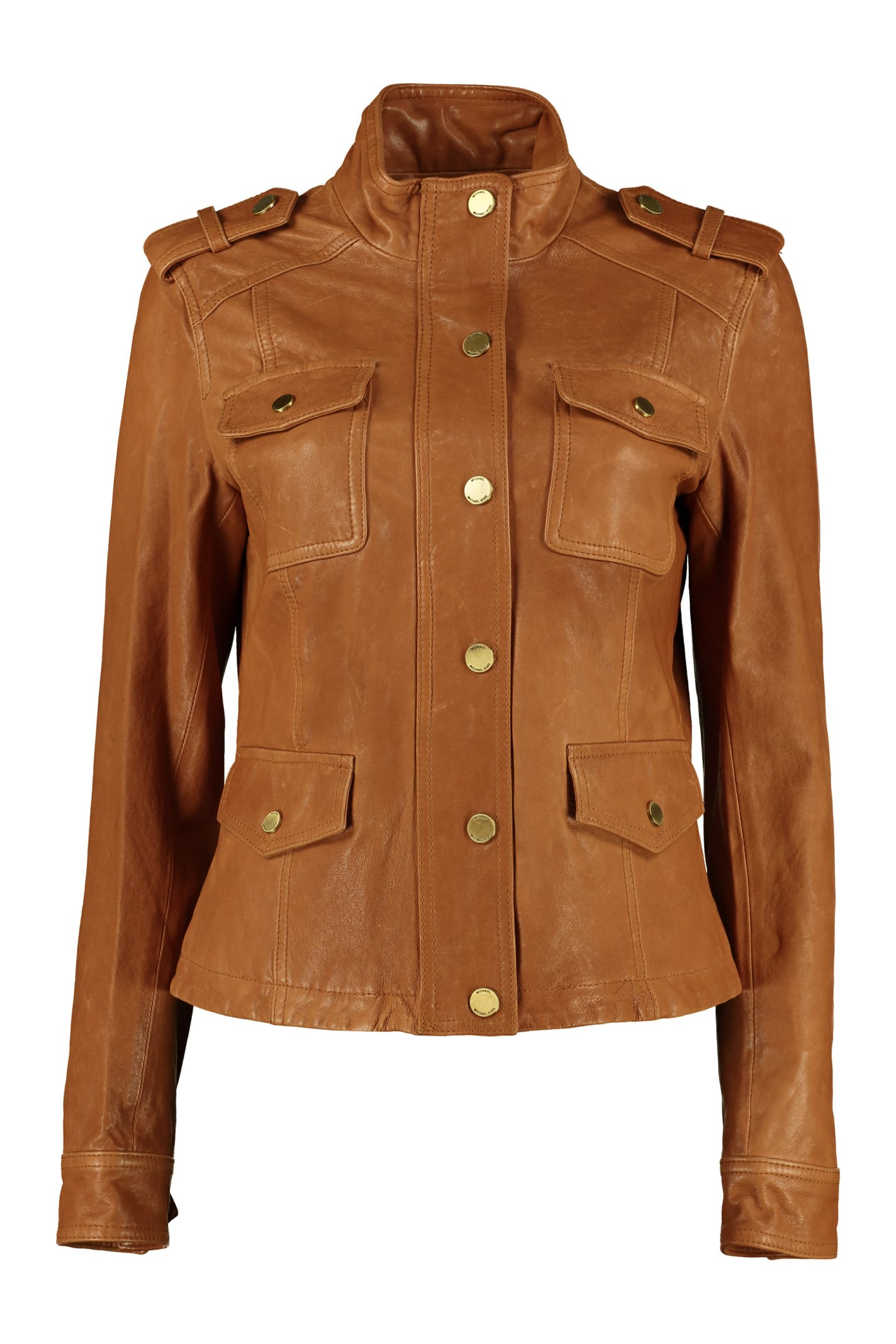 Michael Kors Lamb Leather Jacket