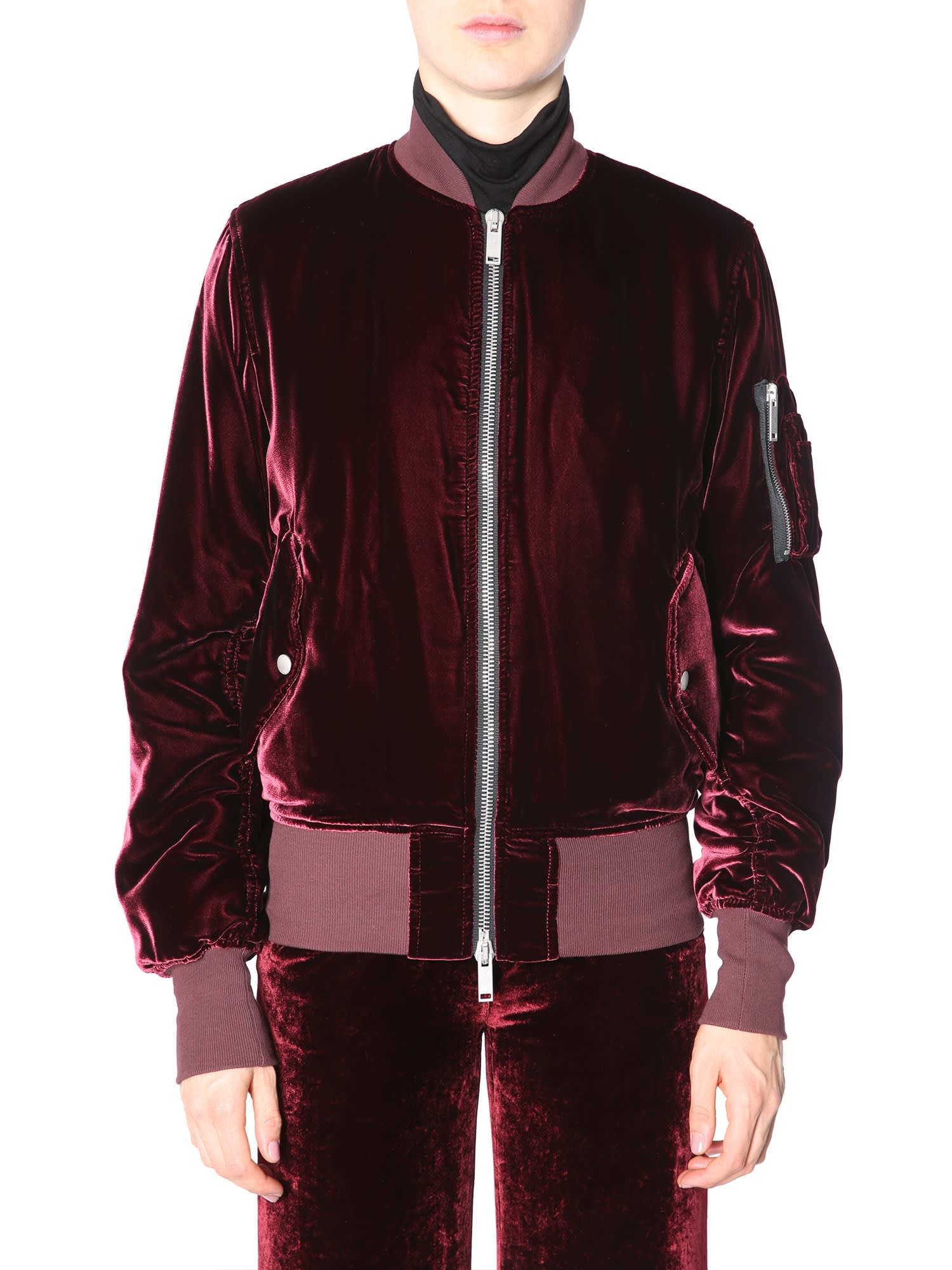 Ben Taverniti Unravel Project Velvet Bomber