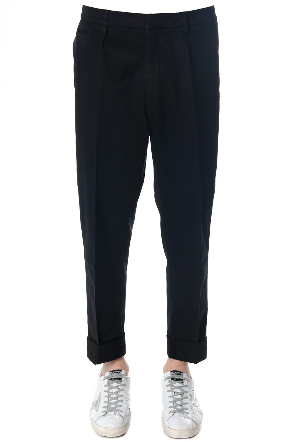 Dondup Frankie Stretch Cotton Trousers